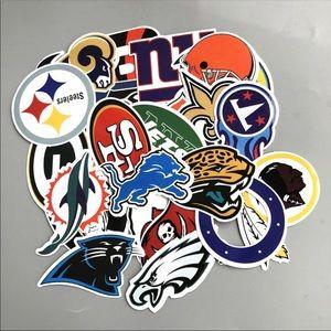 Other - 32Pcs NFL Football Teams Cool Random Stickers